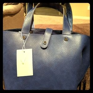 Perfect small Summer bag! Cobalt!